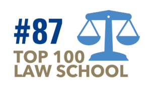 The University of Tulsa College of Law is a Top 100 law school